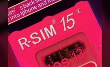 RSIM 15 Designed to unlock iPhone 11 pro
