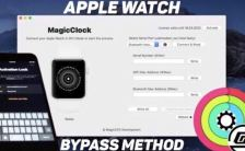 MagicClock Repair Tool - iCloud Bypass for Apple Watch (Series 0 - Series 3) Video Demo