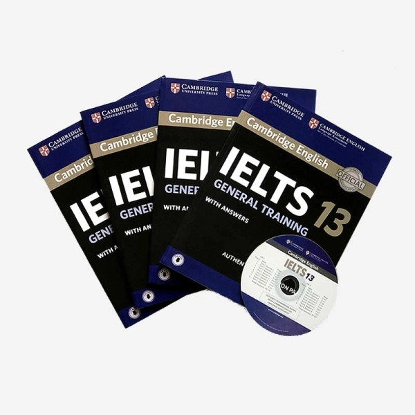 Cambridge-IELTS-13-General-training-books-with-cd in Sri Lanka