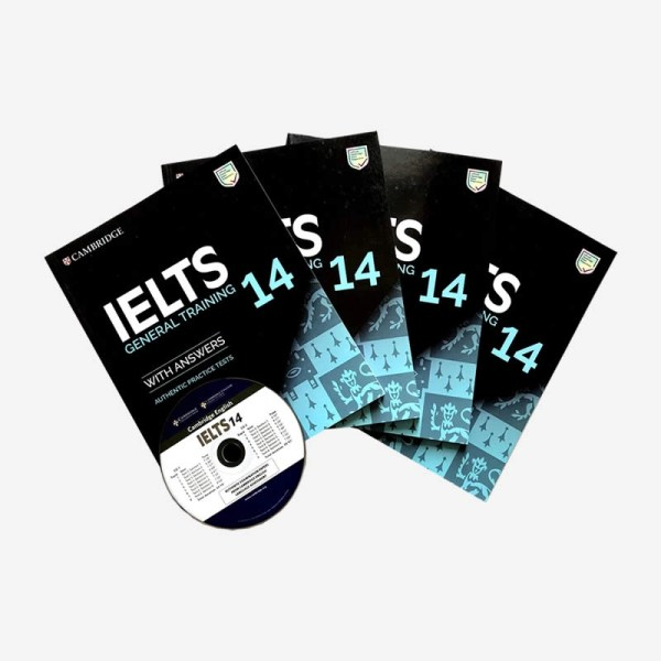 Cambridge IELTS 14 GEneral Training Book and CD in Sri Lanka