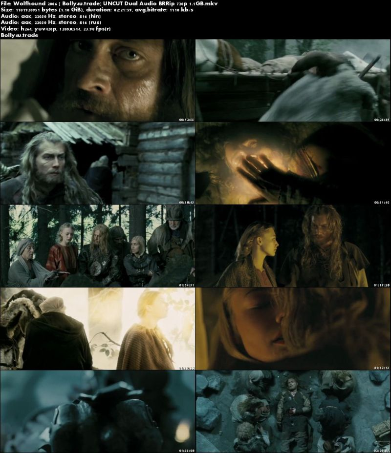 Wolfhound 2006 BRRip UNCUT Hindi Dubbed Dual Audio 720p Download