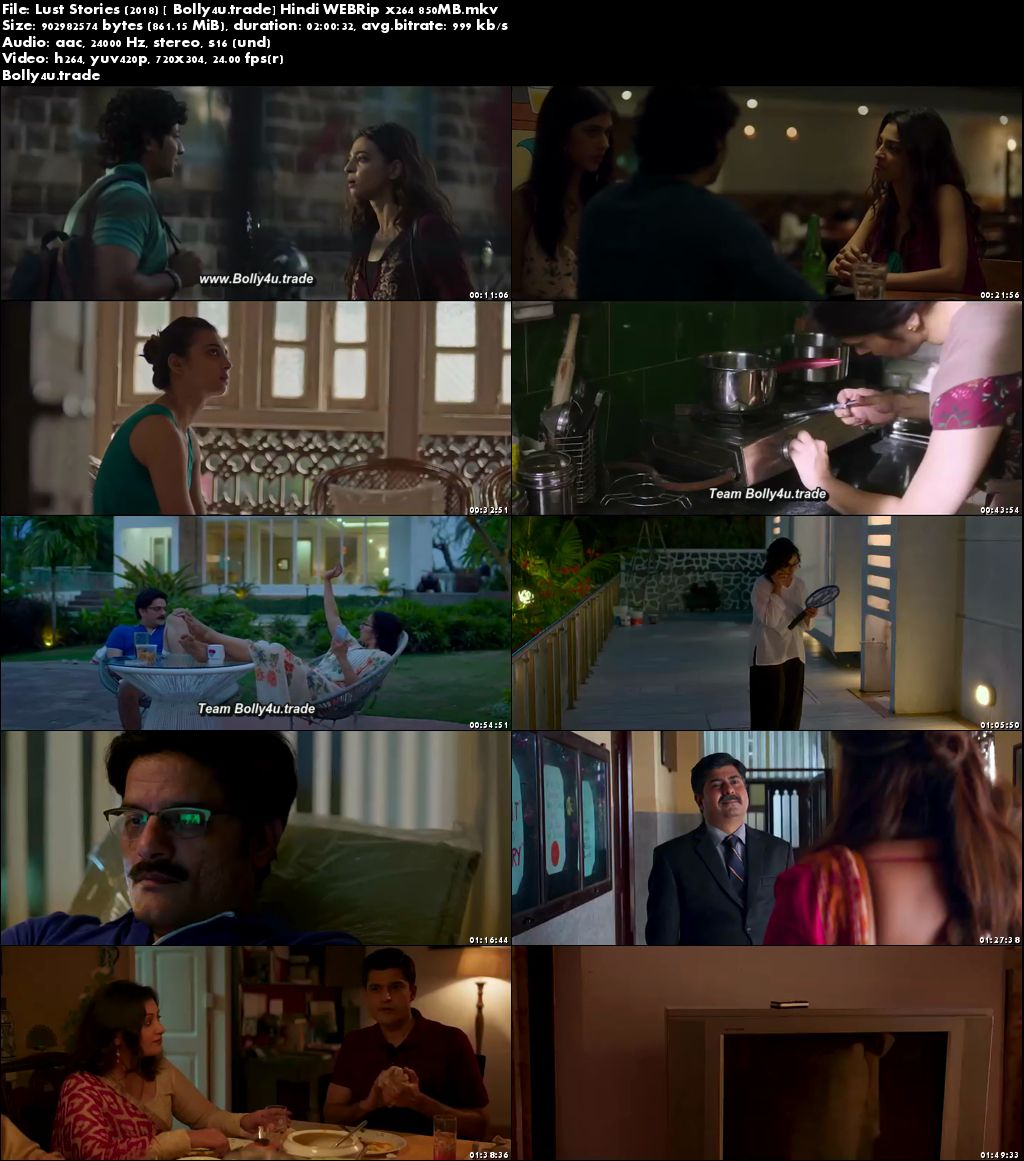 Lust Stories 2018 WEBRip 350Mb Full Hindi Movie Download 480p