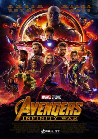 Avengers Infinity War 2018 HDRip 450MB Hind Dubbed Dual Audio 480p ESub Watch Online Full Movie Download Worldfree4u 9xmovies