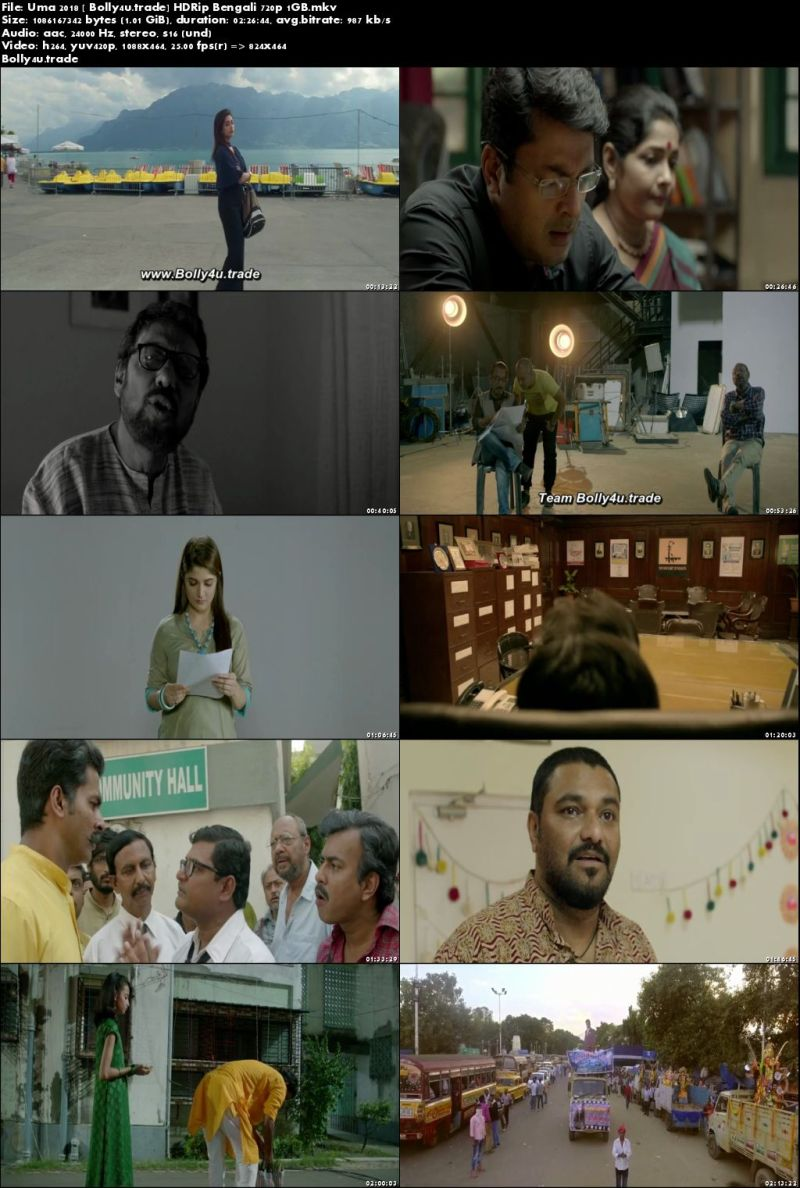 Uma 2018 HDRip 400Mb Full Bengali Movie Download 480p