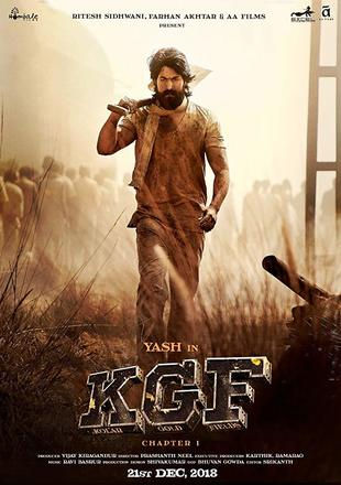 K.G.F Chapter 1 2018 HDRip 450MB Full Hindi Movie Download 480p Watch Online Free Bolly4u movies