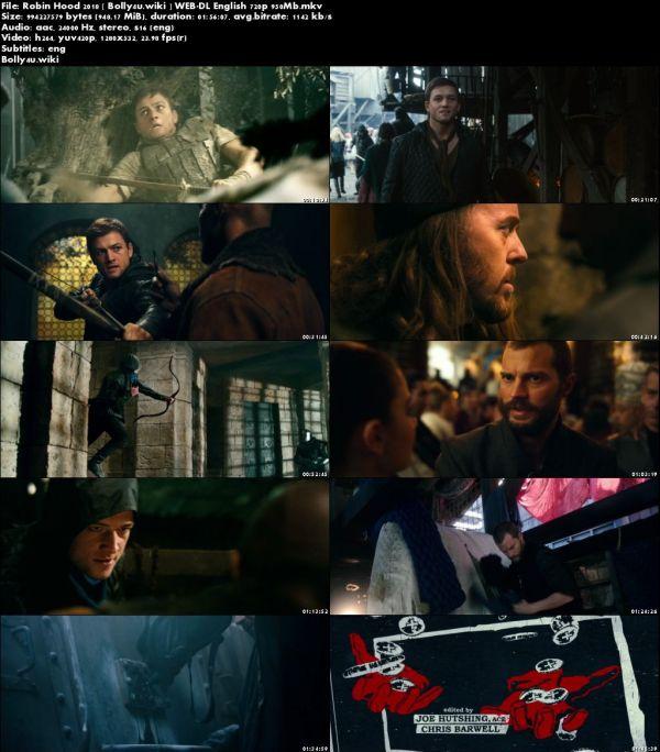 Robin Hood 2018 WEB-DL 350Mb English 480p ESub Download