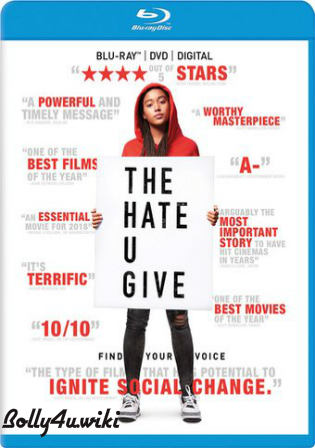 The Hate U Give 2018 BRRip 450MB Hindi Dual Audio ORG 480p ESub Watch Online Full Movie Download bolly4u