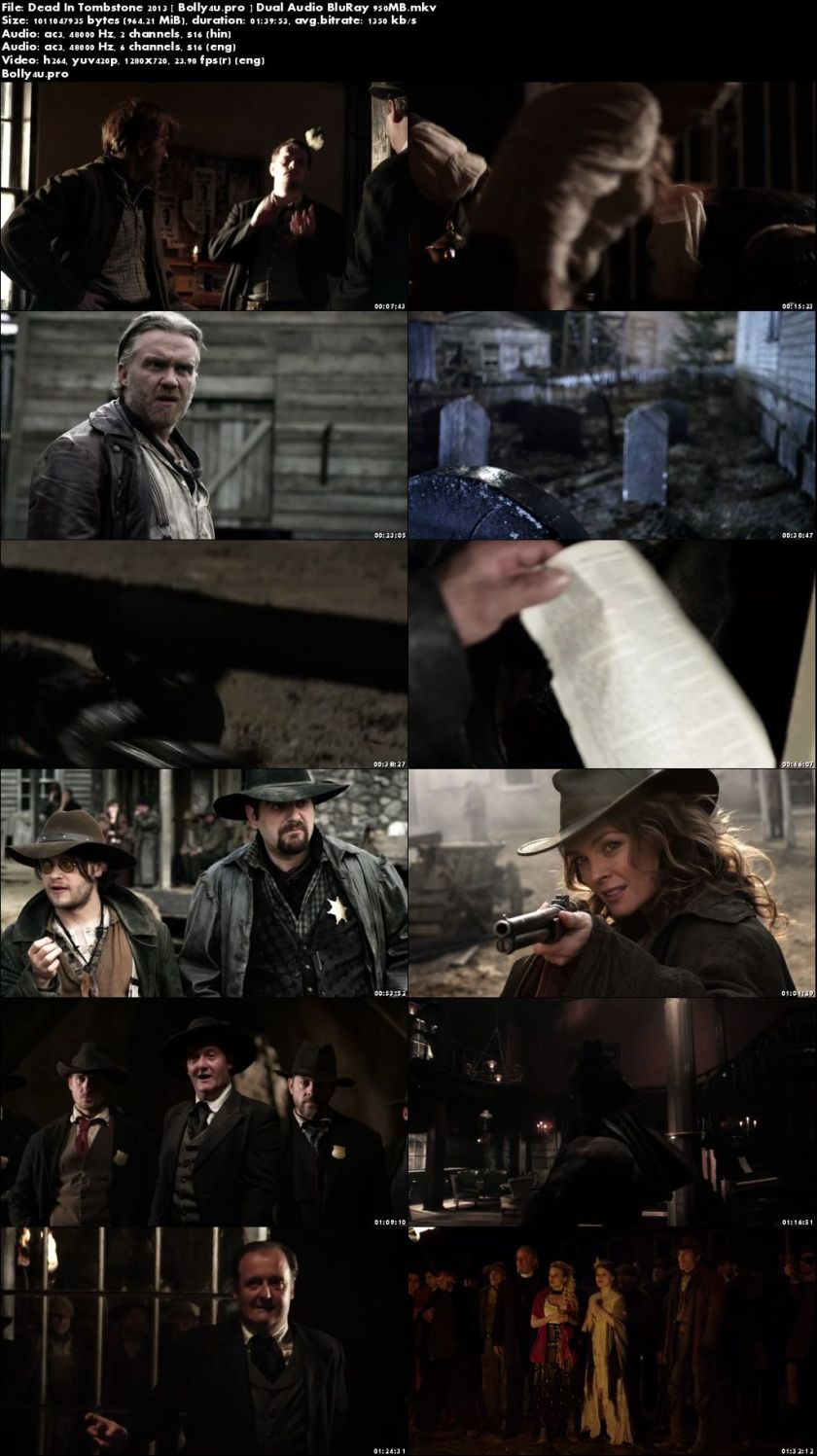 Dead In Tombstone 2013 BluRay 950Mb Hindi Dual Audio 720p Download