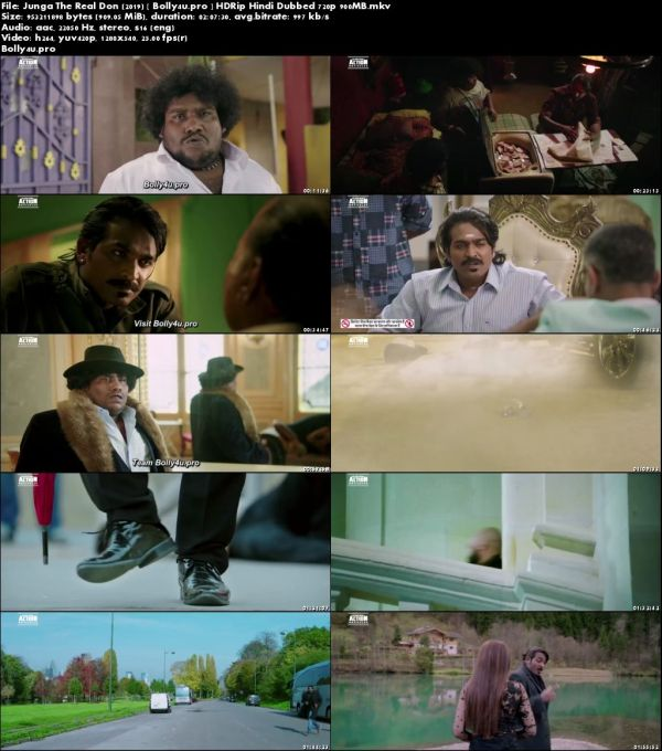 Junga The Real Don 2019 HDRip 900Mb Hindi Dubbed 720p Download