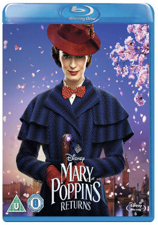 Mary Poppins Returns 2019 BRRip 900MB English 720p ESub Watch Online Full Movie Download bolly4u