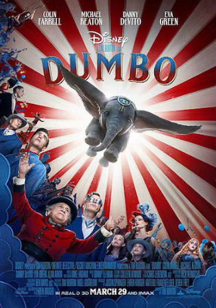 Dumbo 2019 HDCAM 800MB Hindi Dual Audio 720p Watch Online Full Movie Download bolly4u