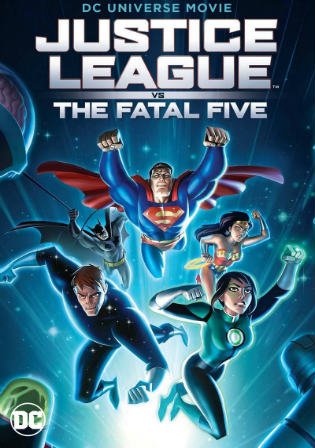 Justice League vs the Fatal Five 2019 HDRip 650MB English 720p ESub Watch Online Full Movie Download bolly4u