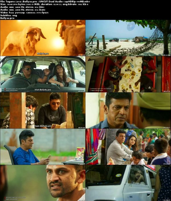Tagaru 2018 HDRip 999MB UNCUT Hindi Dual Audio 720p ESub Download