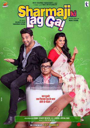 Sharma Ji Ki Lag Gayi 2019 Pre DVDRip 700MB Hindi x264 Watch Online Full Movie Download bolly4u