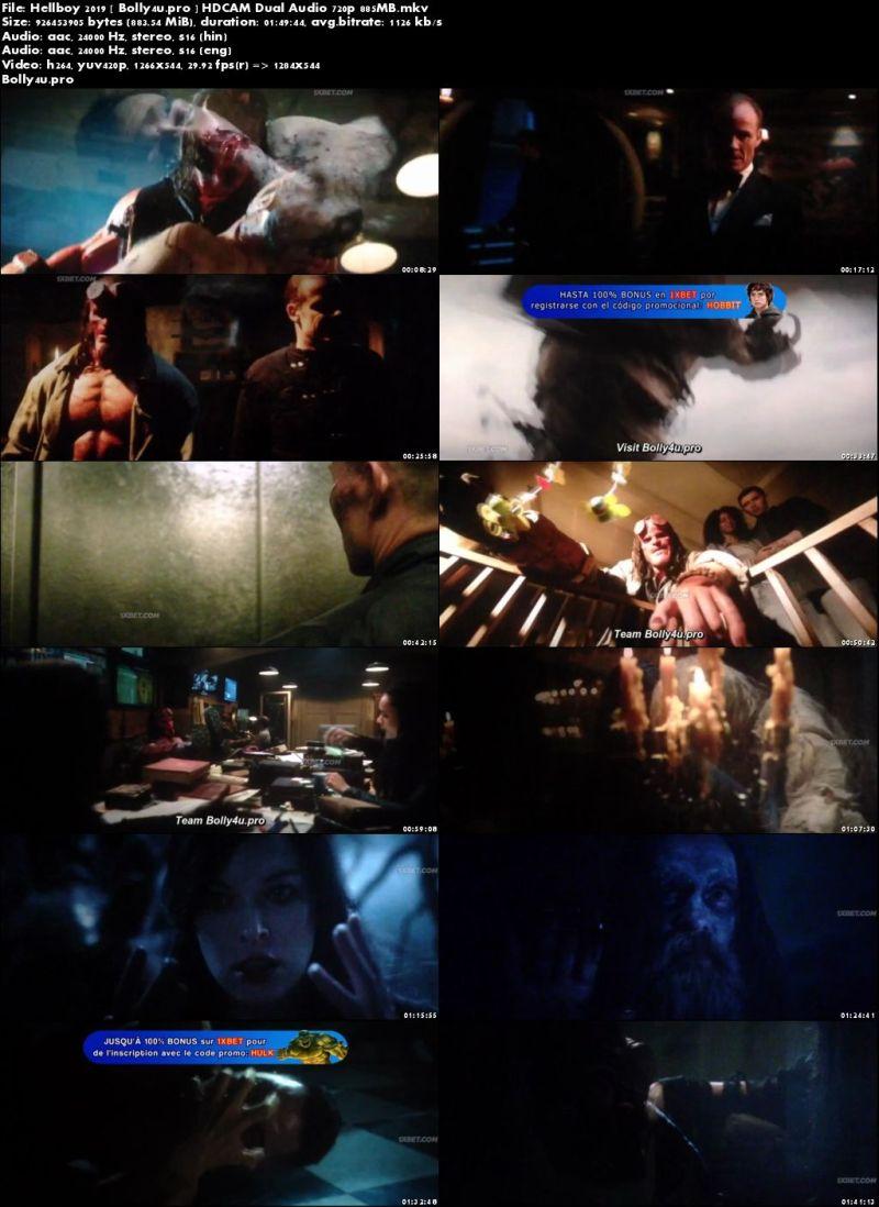 Hellboy 2019 HDCAM 850MB Hindi Dual Audio 720p Download