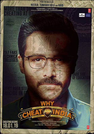 Why Cheat India 2019 WEBRip 800MB Hindi 720p Watch Online Full Movie Download bolly4u