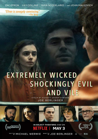Extremely Wicked Shockingly Evil and Vile 2019 HDRip 900MB English 720p ESub Watch Online Full Movie Download bolly4u