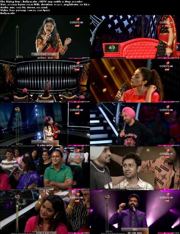 Rising Star S03 HDTV 480p 300Mb 05 May 2019 Download