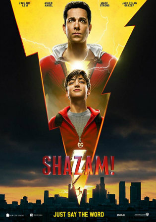 Shazam 2019 HC HDRip 950MB Hindi Dual Audio 720p Watch Online Full movie Download bolly4u