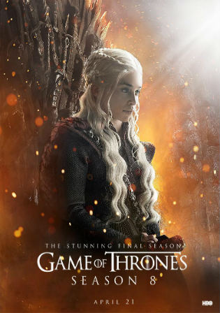 Game of Thrones S08E05 WEB-DL 650MB English 720p Hindi ESub Watch Online Free Download bolly4u