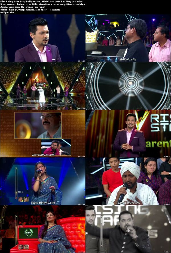 Rising Star S03 HDTV 480p 250MB 12 May 2019 Download