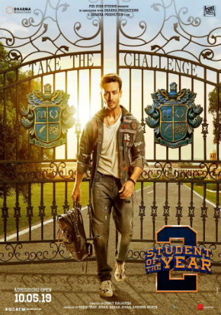 Student of the Year 2 2019 Pre DVDRip 400MB Hindi 480p Watch Online Full movie Download bolly4u
