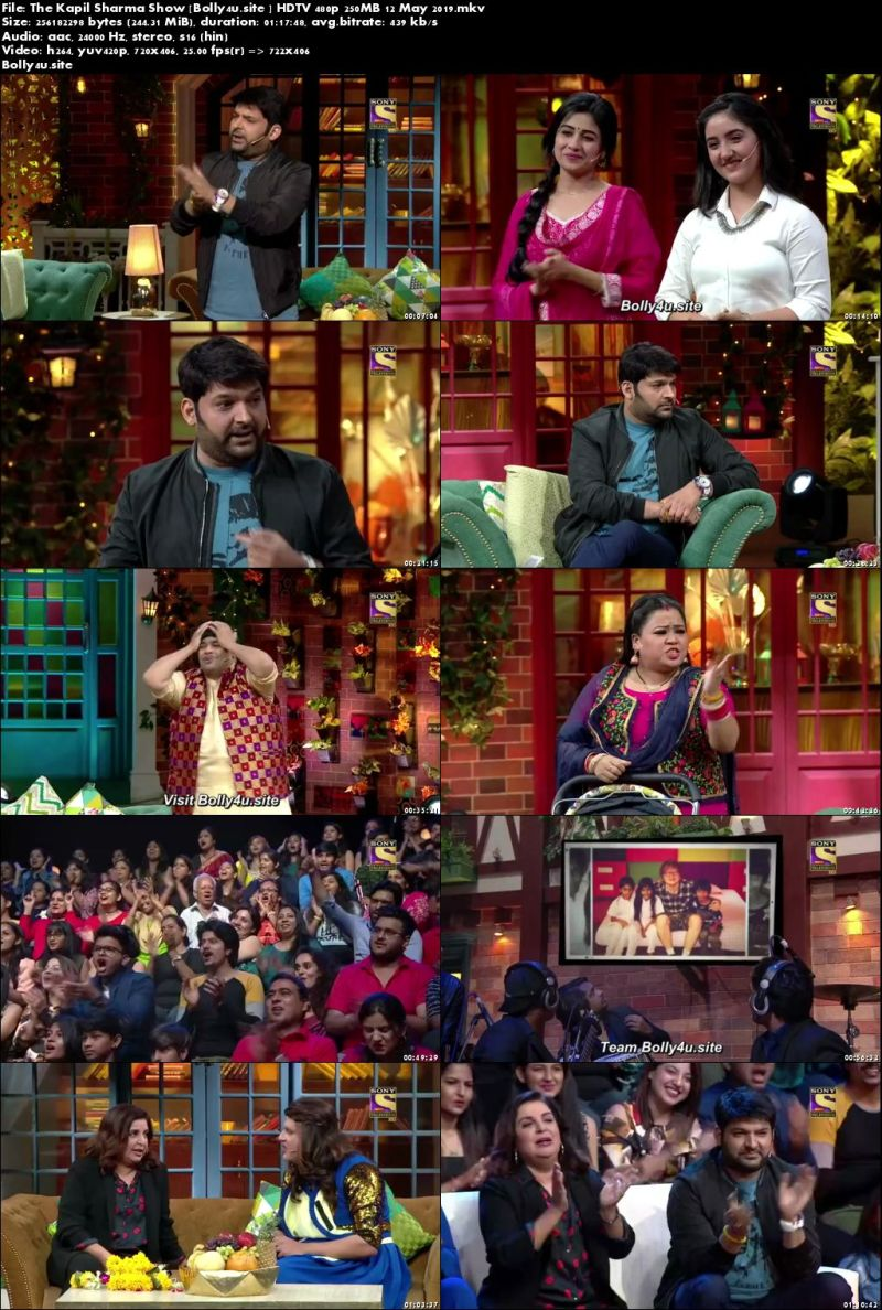 The Kapil Sharma Show HDTV 480p 250MB 12 May 2019 Download