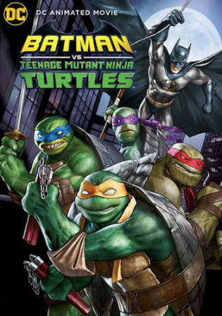 Batman vs Teenage Mutant Ninja Turtles 2019 WEB-DL 750MB English 720p ESub Watch Online Full movie Download bolly4u