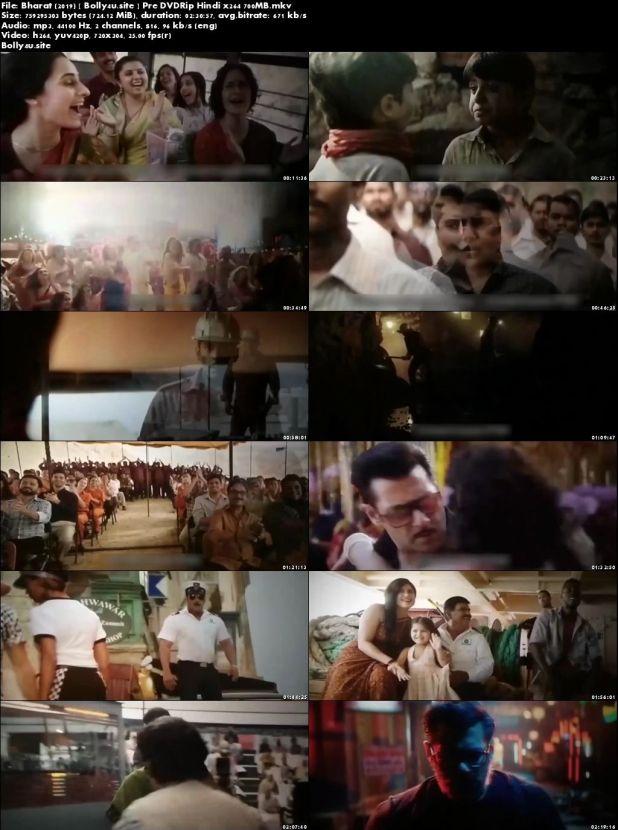 Bharat 2019 Pre DVDRip 700MB Hindi x264 Download