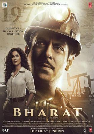 Bharat 2019 Pre DVDRip 700MB Hindi x264 Watch Online Full Movie Download bolly4u