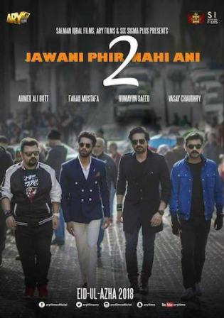 Jawani Phir Nahi Ani 2 2018 SDTV 1.1GB Urdu 720p Watch Online Full Movie Download bolly4u