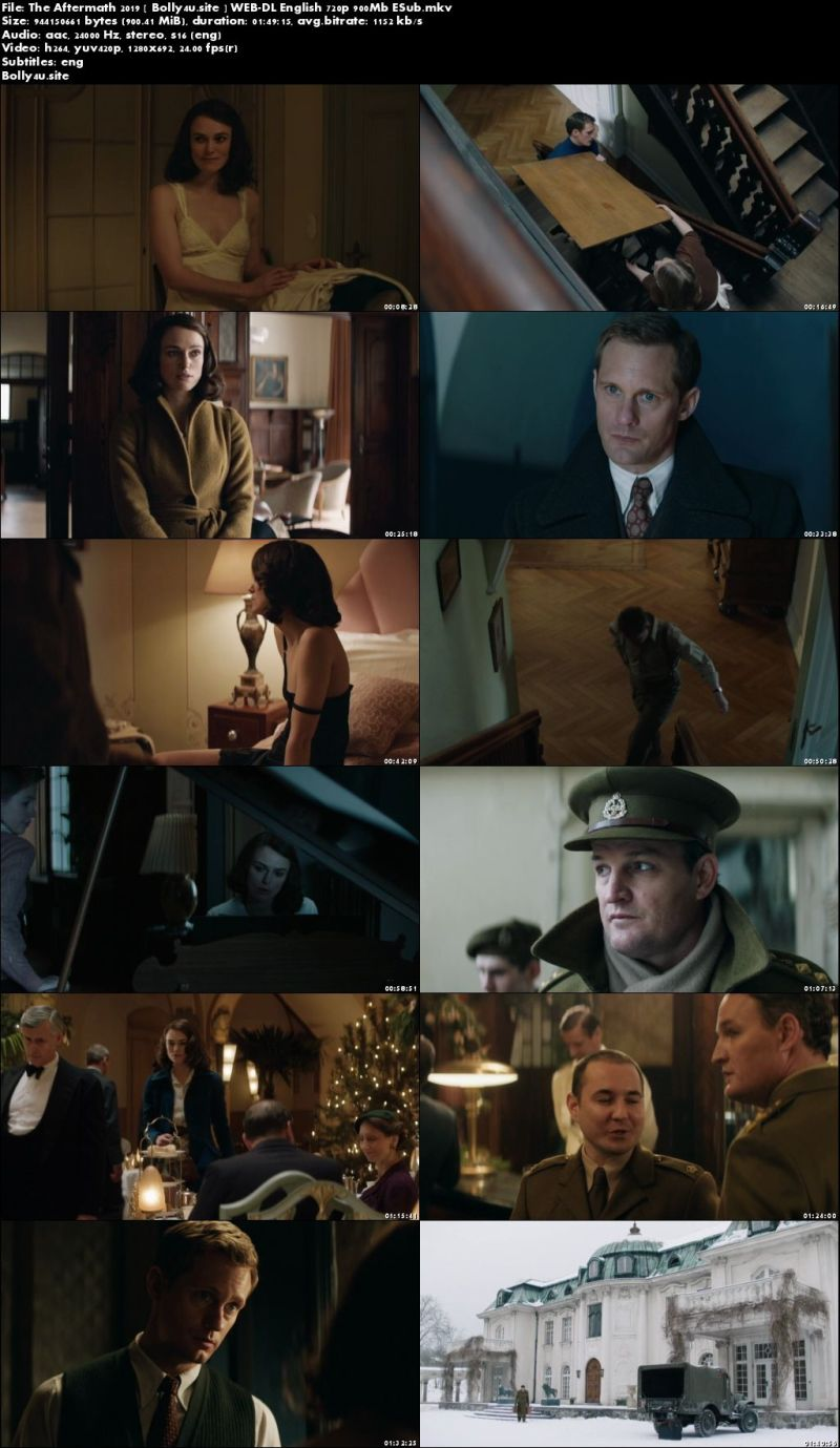 The Aftermath 2019 WEB-DL 900MB English 720p ESub download