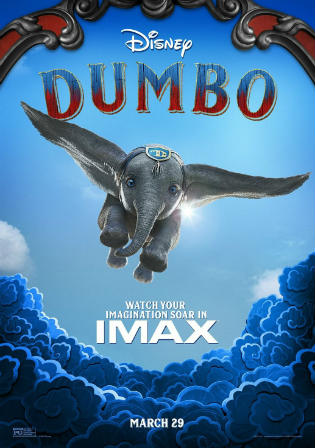 Dumbo 2019 DVDRip 700Mb Hindi Dual Audio 720p Watch Online Full Movie Download bolly4u