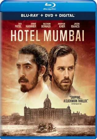Hotel Mumbai 2018 BRRip 1.1GB English 720p ESub Watch Online Full Movie Download