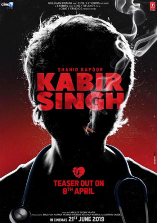 Kabir Singh 2019 Pre DVDRip 700Mb Hindi x264 Watch Online Full Movie Download bolly4u