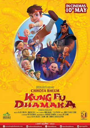 Chhota Bheem Kung Fu Dhamaka 2019 WEB-DL 850Mb Hindi 720p Watch Online Full Movie download bolly4u