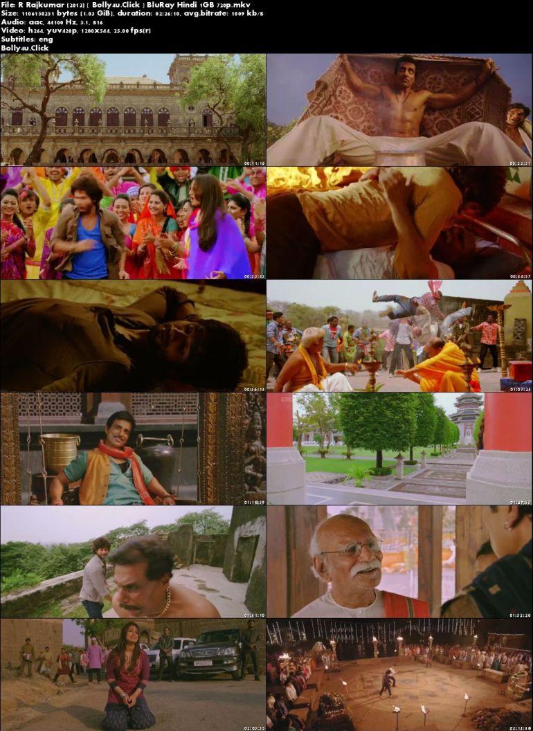 R Rajkumar 2013 BluRay 300MB Full Hindi Movie Download 480p