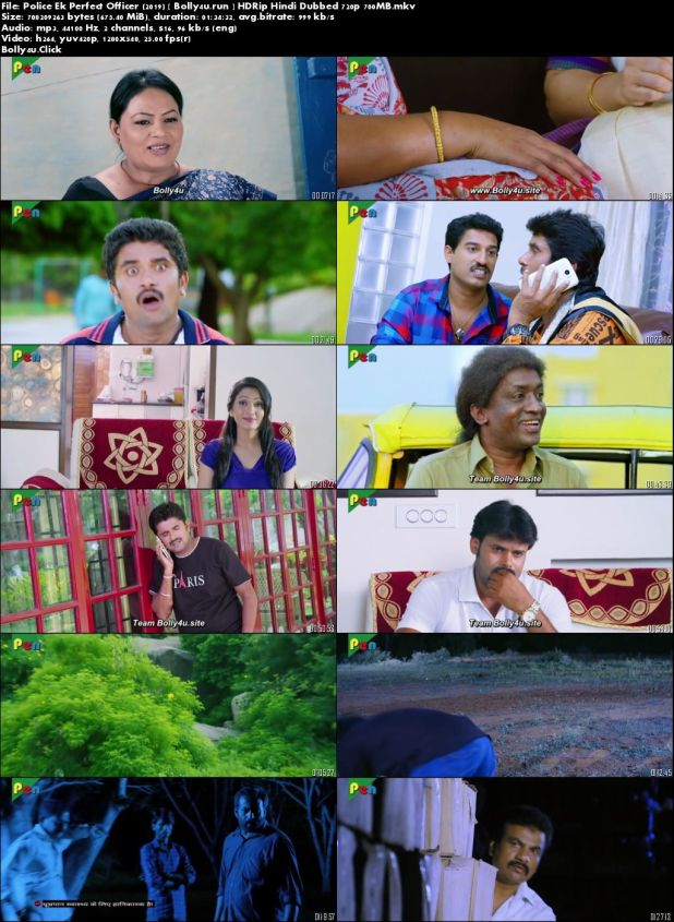 Police Ek Perfect Officer 2019 HDRip 700MB Hindi Dubbed 720p Download