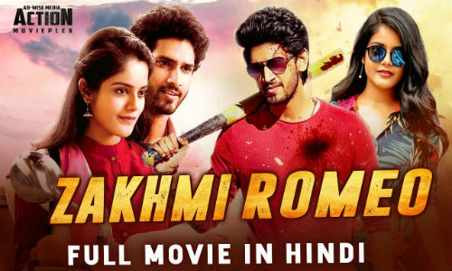 Zakhmi Romeo 2019 HDRip 800Mb Hindi Dubbed 720p Watch online Full Movie Download bolly4u