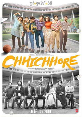 Chhichhore 2019 Pre DVDRip 700Mb Full Hindi Movie Download x264 Watch Online Free bolly4u