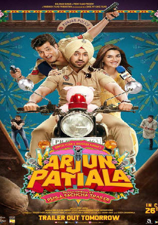 Arjun Patiala 2019 HDRip 950MB Full Hindi Movie Download 720p Watch Online Free Bolly4u