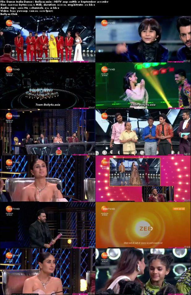 Dance India Dance HDTV 480p 500Mb Grand Finale 29 September 2019 Download