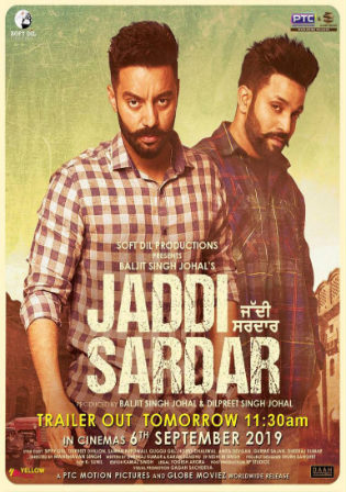 Jaddi Sardar 2019 WEB-DL 450MB Punjabi 480p Watch Online Full Movie Download bolly4u