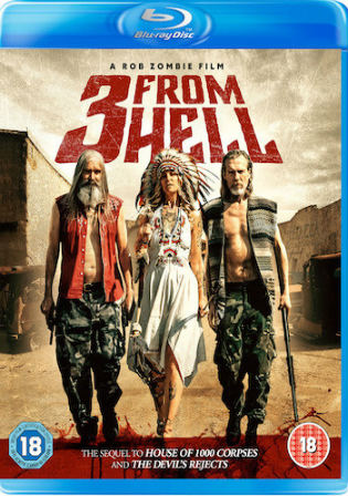 3 From Hell 2019 BRRip 400MB UNRATED English 480p ESub Watch Online Full Movie Download bolly4u