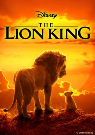 The Lion King 2019 DVDRip 300MB Hindi Dual Audio 480p ESub Watch Online Full Movie Download bolly4u