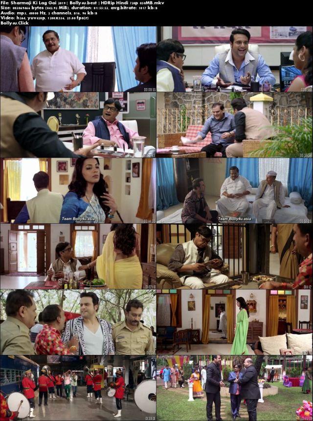 Sharmaji Ki Lag Gai 2019 HDRip 350Mb Full Hindi Movie Download 480p
