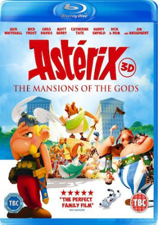 Asterix And Obelix Mansion Of The Gods 2014 BRRip 650Mb Hindi Dual Audio 720p Watch Online Full Movie Download bolly4u
