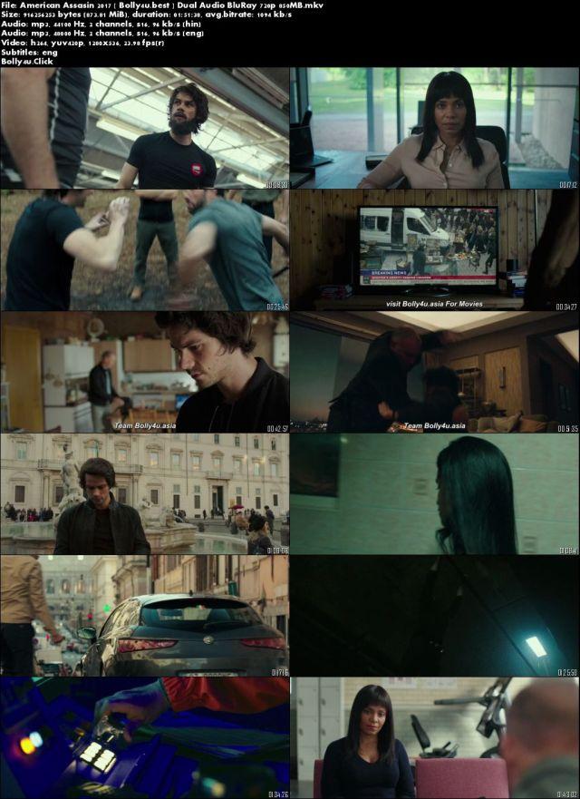 American Assassin 2017 BluRay 300MB Hindi Dual Audio 480p Download