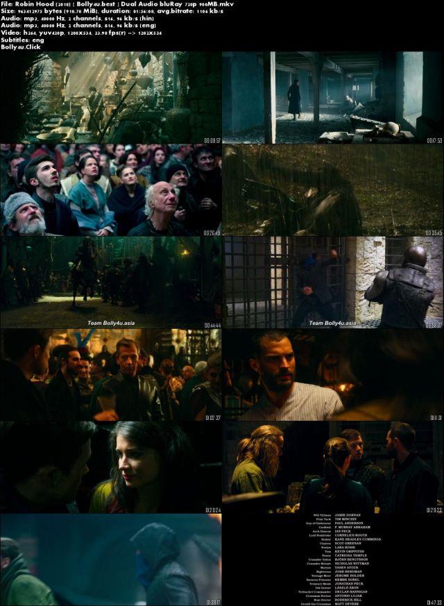 Robin Hood 2018 BluRay 900MB Hindi Dual Audio 720p Download