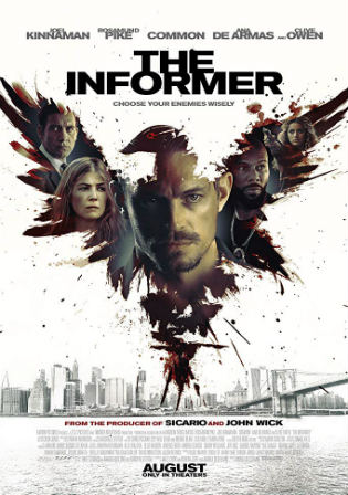 The Informer 2019 HDCAM 800MB Hindi Dual Audio 720p Watch Online Full Movie Download bolly4u